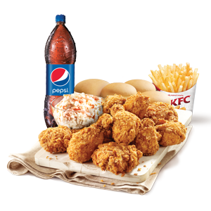 For Sharing,KFC,Family Meal - Spicy