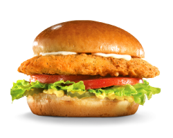 Sandwich, Chicken, Hardees, Golden Chicken Fillet Sandwich